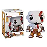 QTSL Pop Figures God of Games War WhiteKratos25# Vinyl Action Figure Toy Collection Model Doll Gifts For Children Xmas with Box 10Cm