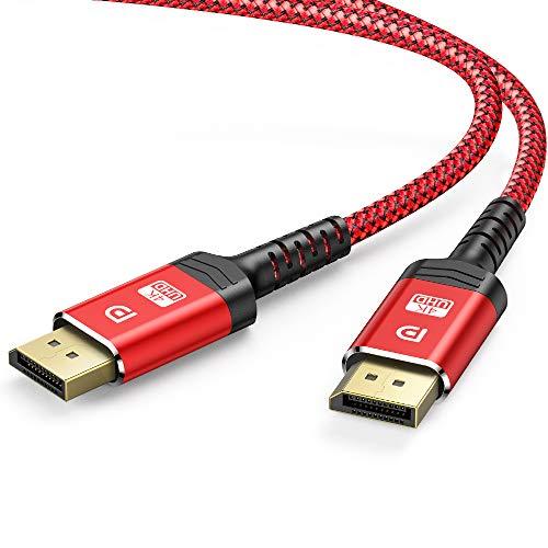 Cable DisplayPort 4K, ALCLAP Cable DP 144Hz Alta Velocidad