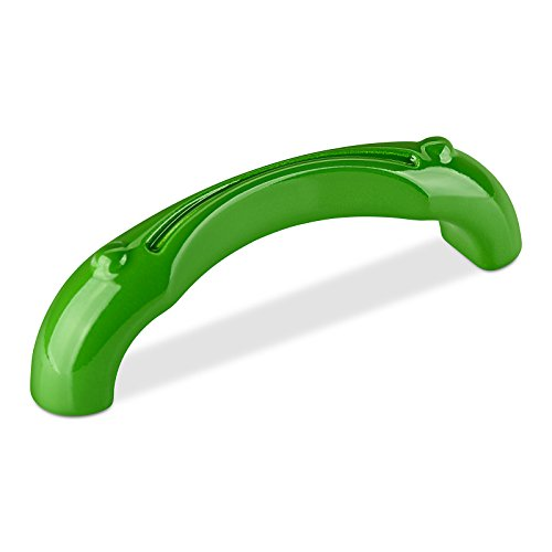 Kindermöbelgriff FROG BA 96 mm grün Schrankgriff Kindergriff Möbelgriff von SO-TECH®