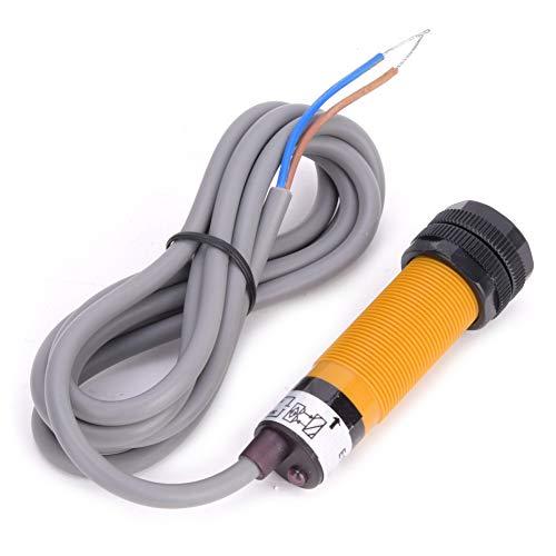 Interruptor fotoeléctrico de haz fotoeléctrico, 1MS Tiempo de respuesta Plastic ≤20mA 18mm