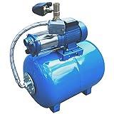 Hauswasserwerk Pumpe, Gartenpumpe Hauswasserautomat mit Integrierter thermischer Motorschutzschalter...