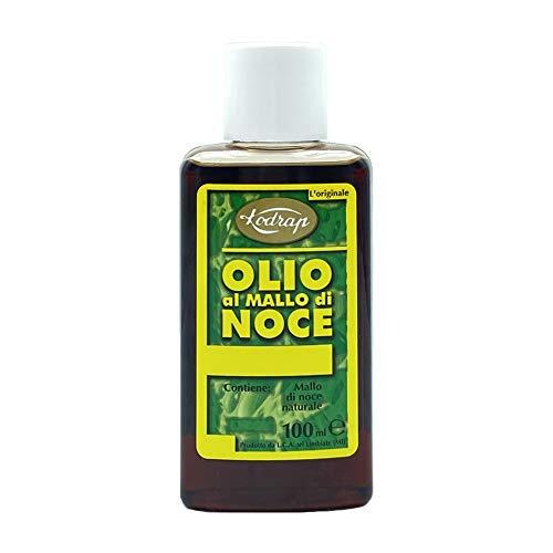 Olio Abbronzante al Mallo Noce - 6 Pezzi da 100 ml [Totale 600ml]