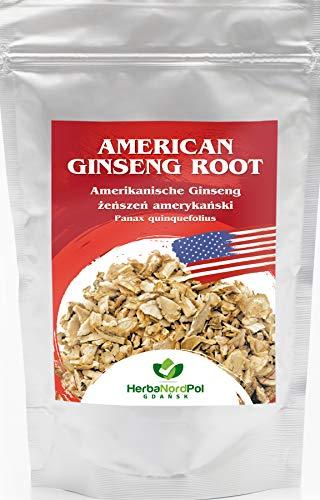 Trozos de Raiz de Ginseng americano para Te, desde la Panax quinquefoluis de Wisconsin, 100G
