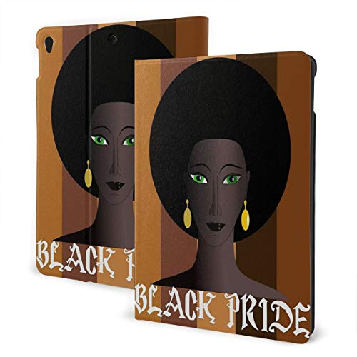 Black Pride Melanin Queen Black Magic Queen Case for IPad Air 3 (10.5-inch 2019) and IPad Pro 10.5 Inch Case TPU Protective Stand Cover with Auto Sleep/Wake for IPad Tablet