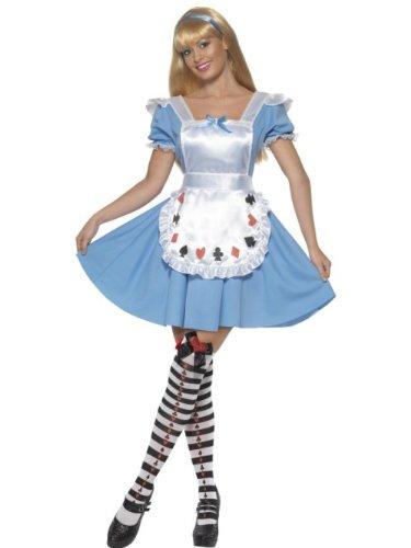 Smiffy's 355 602 - Costume per Travestimento da Alice nel Paese delle Meraviglie, Donna, S