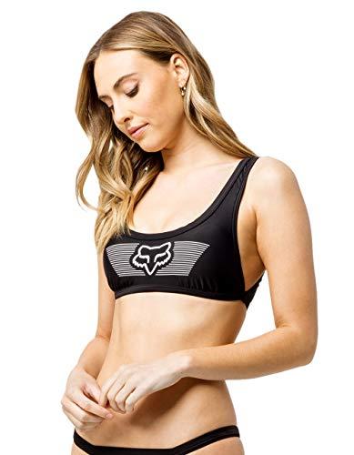Fox Anderson - Camiseta de natación para mujer -  Negro -  Medium