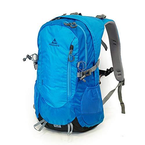mapuera Aero - Leichter Tagesrucksack mit Rückenbelüftung/Daypack mit Regenhülle, 19 l, geeignet als Rucksack zum Radfahren, Wandern, Laufen und für Tagesausflüge