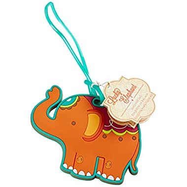 Kate Aspen  Lucky Elephant  Luggage Tag
