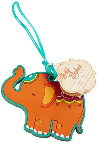 Kate Aspen 'Lucky Elephant' Luggage Tag