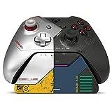 コントローラーギア サイバーパンク2077 限定版 - Xbox Pro 充電スタンド/充電ステーション - 公式ライセンス Xbox アクセサリー (コントローラー別売) - Xbox One