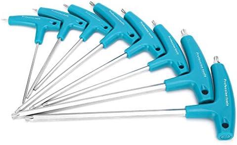 Duurzame draagbare antislip inbussleutel moersleutels vanadiumstaal veel gebruikt voor de installatie van meubels in huisonderhoud