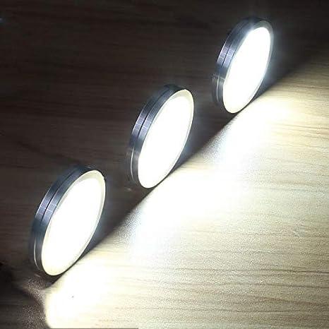 Lightess 8er Schrankbeleuchtung LED Unterbauleuchten Kaltwei/ß Schrankleuchte LED Nachtlicht Schrank Lichter Wandleuchten Treppen Licht Vitrinenbeleuchtung f/ür Kabinett Schr/änke Kleiderschrank K/üche