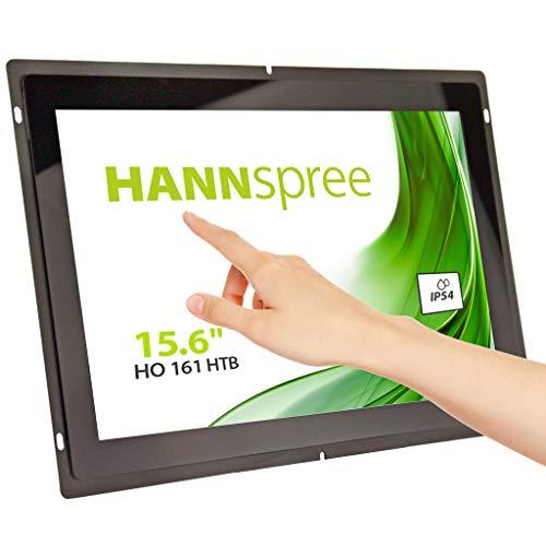 """Preisvergleich Produktbild HANNspree HO161HTB 39, 6cm (15, 6"""") Open-Frame Multitouch-Monitor Full-HD 250cd VGA HDMI Lautsprecher USB VESA Metall-Gehäuse"""
