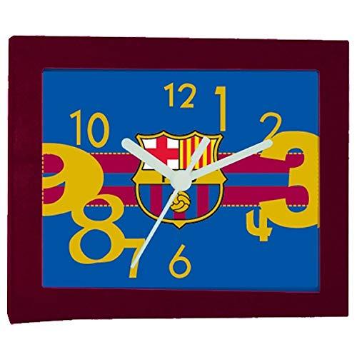 CHRISTIAN GAR F.C.Barcelona 3002152 - Reloj analógico de sobremesa Barça. Bisel Granate...