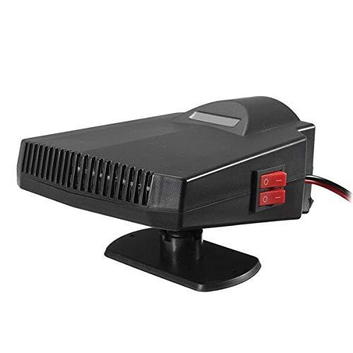 YANGYUAN Calentador de Ventilador 12V 250W Coche Antivaho Ventilador Calefacción soplador de Aire desempañador