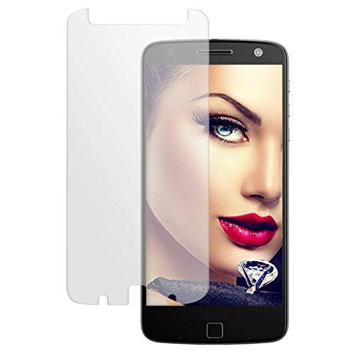 mtb more energy® Schutzglas für Lenovo Moto Z Force (5.5'') - Glasfolie Bildschirm Schutzfolie Tempered Glass