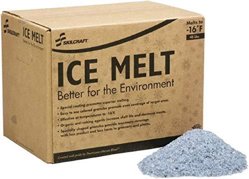 Blue Granular Popular overseas Ice Free shipping New Melt 40 lb. Carton -16?ö¼?ûæF