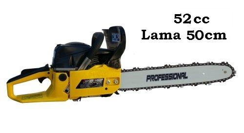 Motosega 52cc lama 50cm Yellow - ZL5200