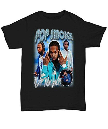 Pop Smoke Inspired T Shirt Rip The Woo 90'S Hip Hop Bootleg Rap Tee Vintage