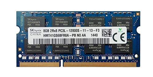 Hynix 8 GB 2RX8 PC3L-12800S 1600 MHz Memoria RAM hmt41gs6bfr