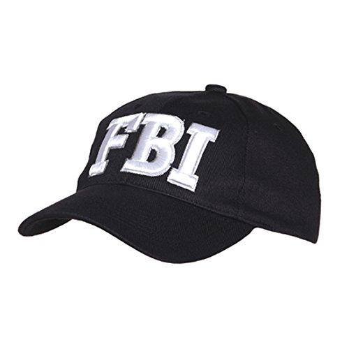 AlxShop - Casquette FBI - USA - Taille : unique - Couleur : Black