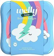 مدالهای شجاع و بدلیجات Welly Kids باند پارچه ای Flex Rainbow Flex - 48ct