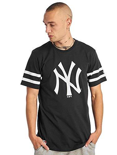 New Era MLB Team Logo Neyyan Nvy Camiseta, Hombre, Navy, S