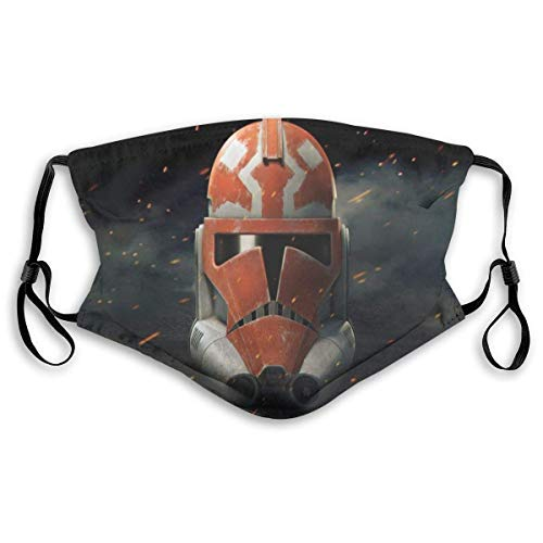 Mundschutz Face Cover Mouth Cover Star-War The Clone Wars Mouth Headscarf Outdoor Reusable Scarf Face Decorations