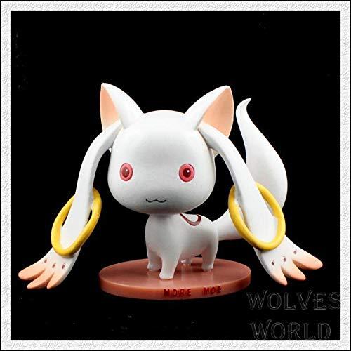 魔法少女まどか☆マギカかわいい人形インキュベーターQB動画像のアニメキャラクターキャラクターモデルアクションフィギュアコレクション