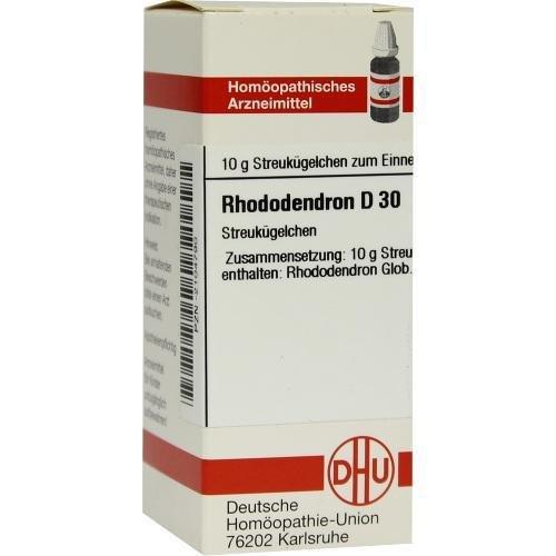 RHODODENDRON D 30 Globuli 10g