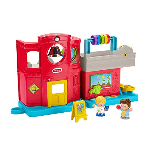 Fisher-Price GJC09 - Little People Schule, Deutsche Sprachversion