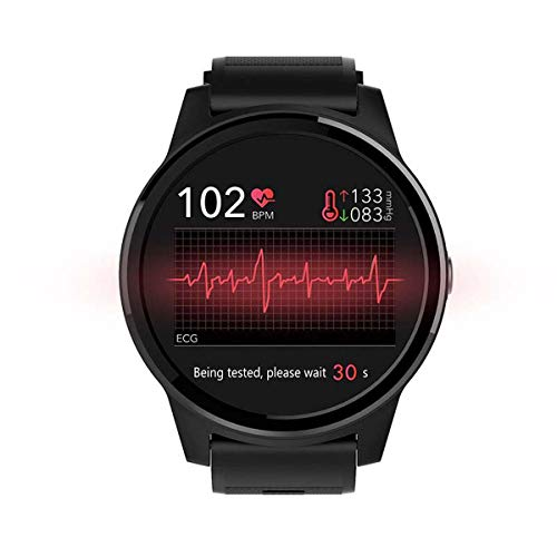 HFJ&YIE&H Smartwatch Sportivo da Uomo Rapporto HRV Pressione sanguigna Cardiofrequenzimetro Test ECG + Sensore ECG PPG Bluetooth Smart Watch