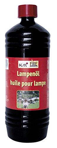 KM MATCH & LIGHTERS Flacon de 1000 ML d'huile de Paraffine Claire 319