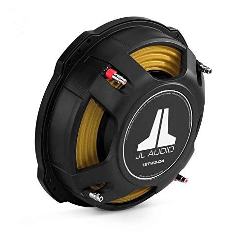 JL Audio 12TW3-D8 12' TW3 Series Dual 8-Ohm Shallow Subwoofer