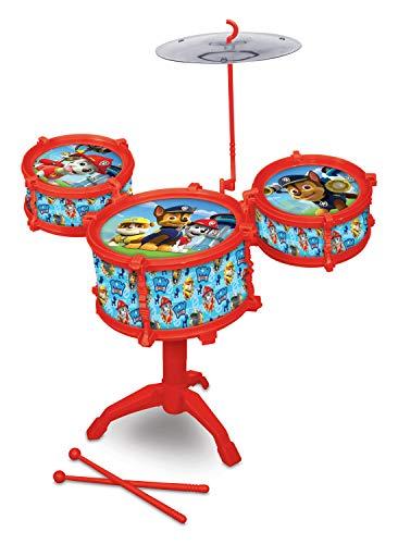 What Kids Want Paw Patrol Drum Kit Set