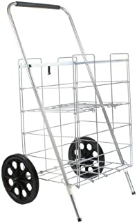 Helping Hand FQ3915D 2-Wheel Folding Cart with Wheels and Shelf