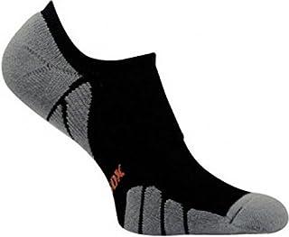 Vitalsox Tennis No Show Socks, Black, Small