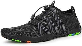 IKENIP Mens Womens Water Sports Shoes Quick Dry Barefoot Outdoor Aqua Socks Pool Beach Walking Yoga Swim Shoes