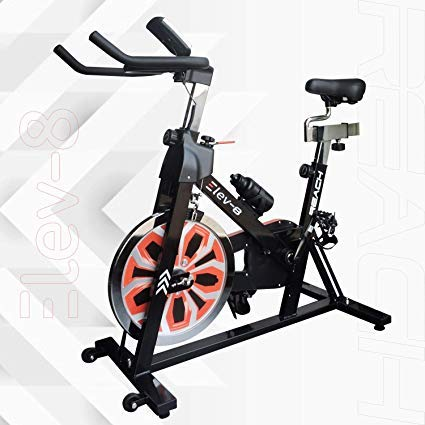 Reach Elev-8 Spin Bike for Gym Workout (Multi-Color)