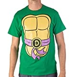 Teenage Mutant Ninja Turtles TMNT Mens Costume T-Shirt (Purple, Large)