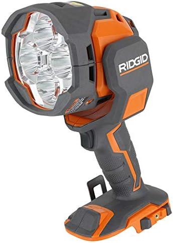 Ridgid R8694220B Gen5X 18V Lithium Ion Cordless Dual Power 2 500 Lumen Spotlight Battery Not product image