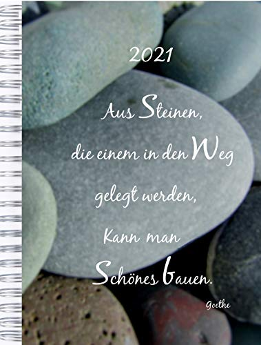 2021 Dicker Kalender – STEINE