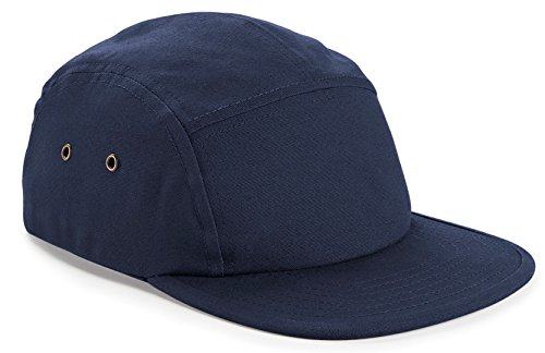 Beechfield Canvas 5 Panel Cap French Navy ONE