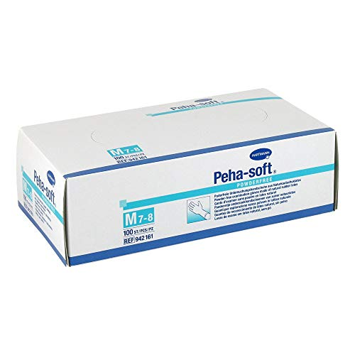 Peha-soft powderfree unsteril, Gr. Medium- PZN 07126885, 100 Stück