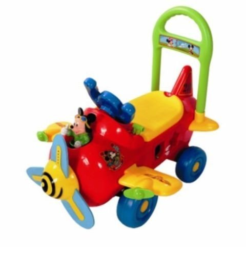 Mickey Mouse Activity Plane Ride On Boys Girls by Mickey Mouse