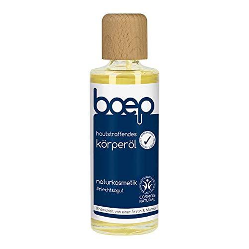 boep Hautstraffendes Körperöl - Vegane Naturkosmetik - Schwangerschaftsöl für straffere, glattere Haut (125ml)