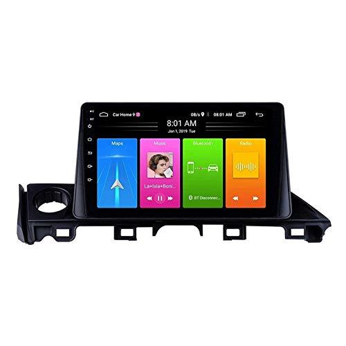 ZHANGYY Android 8.1 Unidad Principal del navegador estéreo de Radio de Coche de 9 Pulgadas Compatible con Mazda ATENZA 2016-2018, Mirror Link/FM/GPS/Bluetooth/Cámara de visión Trasera/Cont