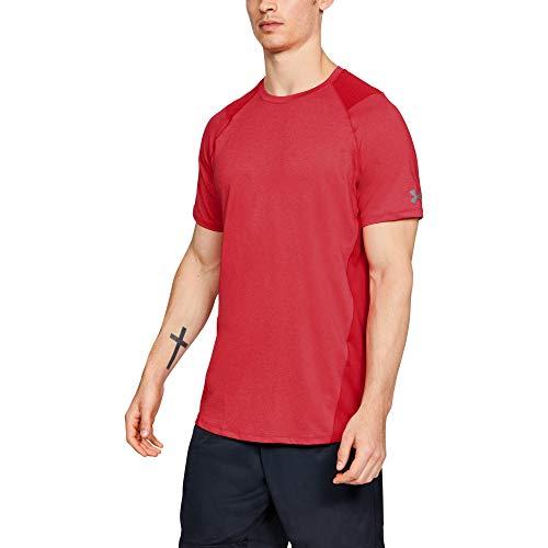 Under Armour MK 1 Camiseta de manga corta para hombre 1306428, XXL, Pierce (629)Graphite