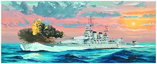 Trumpeter- Italian Navy Battleship RN Littorio 1941 Kit di Montaggio per modellino, Colore Vari, 005319