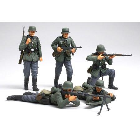 Tamiya - 35293 - Maquette - Infanterie Allemande France 1940 - Echelle 1:35